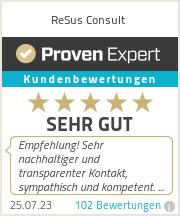 Erfahrungen & Bewertungen zu ReSus Consult