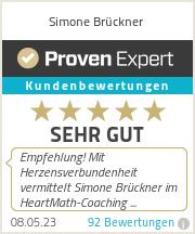 Erfahrungen & Bewertungen zu Simone Brückner