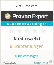 Erfahrungen & Bewertungen zu Alts4Free.com