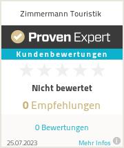 Erfahrungen & Bewertungen zu Zimmermann Touristik