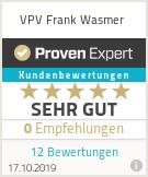 Erfahrungen & Bewertungen zu VPV Frank Wasmer