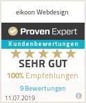 Erfahrungen & Bewertungen zu eikoon Webdesign