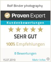 Erfahrungen & Bewertungen zu Rolf Binder photography