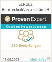 Erfahrungen & Bewertungen zu SCHULZ BüroTechnikVertrieb GmbH