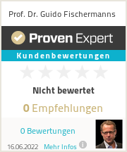 Erfahrungen & Bewertungen zu Prof. Dr. Guido Fischermanns