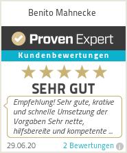 Erfahrungen & Bewertungen zu Benito.Design Logo Erstellung
