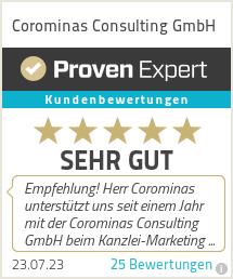 Erfahrungen & Bewertungen zu Corominas Consulting GmbH