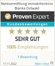 Erfahrungen & Bewertungen zu Nordvermittlung Bianka Ostwald