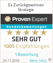 Erfahrungen & Bewertungen zu Ex Zurückgewinnen Strategie