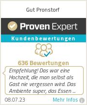 Erfahrungen & Bewertungen zu Gut Pronstorf