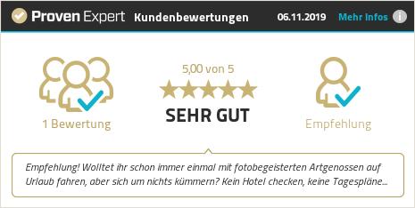 Kundenbewertungen & Erfahrungen zu Alexander Müller - Fotografie, Fotokurse, Fotoreisen. Mehr Infos anzeigen.