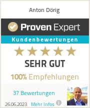 Erfahrungen & Bewertungen zu Anton Dörig
