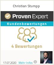 Erfahrungen & Bewertungen zu Christian Stumpp