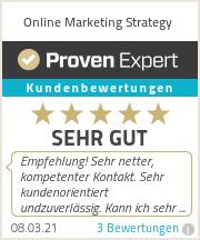 Erfahrungen & Bewertungen zu Online Marketing Strategy