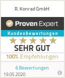 Erfahrungen & Bewertungen zu R. Konrad GmbH