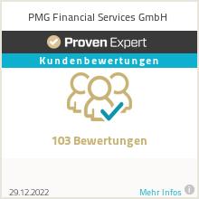 Erfahrungen & Bewertungen zu PMG Financial Services GmbH