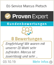 Erfahrungen & Bewertungen zu DJ-Service Marcus Pietsch