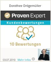 Erfahrungen & Bewertungen zu Dorothee Drögemüller