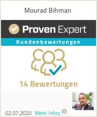 Erfahrungen & Bewertungen zu Mourad Bihman