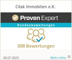 Erfahrungen & Bewertungen zu Citak Immobilien e.K.