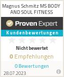 Erfahrungen & Bewertungen zu Magnus Schmitz MS BODY AND SOUL FITNESS