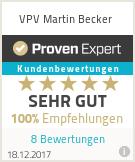 Erfahrungen & Bewertungen zu VPV Martin Becker