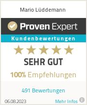 Erfahrungen & Bewertungen zu Mario Lüddemann