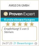 Erfahrungen & Bewertungen zu AMGEON GMBH