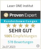 Erfahrungen & Bewertungen zu Laser ONE - Institut für Haarentfernung