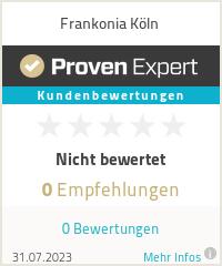 Erfahrungen & Bewertungen zu Frankonia Köln