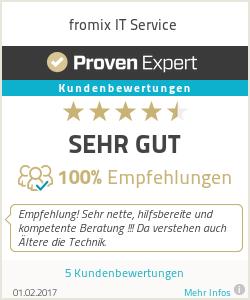 Erfahrungen & Bewertungen zu fromix IT Service