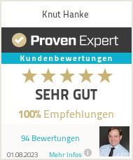 Erfahrungen & Bewertungen zu Knut Hanke