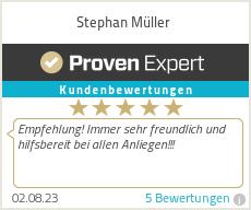 Erfahrungen & Bewertungen zu Stephan Müller