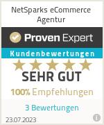 Erfahrungen & Bewertungen zu NetSparks eCommerce Agentur