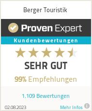 Erfahrungen & Bewertungen zu Berger Touristik