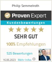 Erfahrungen & Bewertungen zu Philip Semmelroth