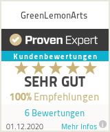 Erfahrungen & Bewertungen zu GreenLemonArts