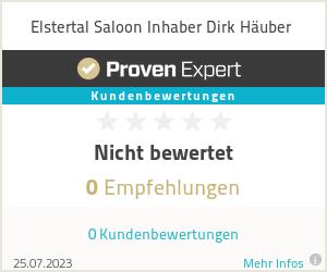 Erfahrungen & Bewertungen zu Elstertal Saloon Inhaber Dirk Häuber