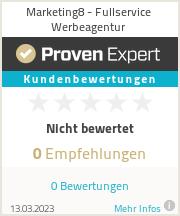 Erfahrungen & Bewertungen zu Marketing8 - Fullservice Werbeagentur