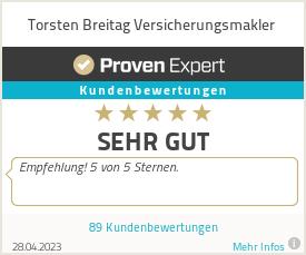 Erfahrungen & Bewertungen zu Torsten Breitag Versicherungsmakler