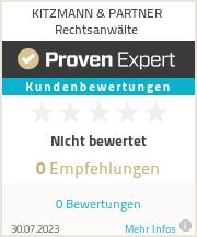 Erfahrungen & Bewertungen zu KITZMANN & PARTNER Rechtsanwälte