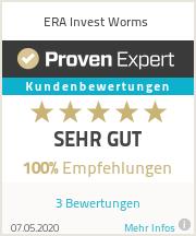 Erfahrungen & Bewertungen zu ERA Invest Worms
