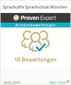 Erfahrungen & Bewertungen zu Sprachcaffe München