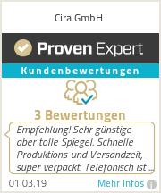 Erfahrungen & Bewertungen zu Cira GmbH