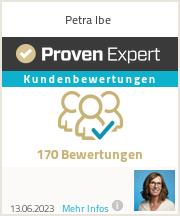 Erfahrungen & Bewertungen zu Petra Ibe