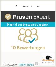Erfahrungen & Bewertungen zu Andreas Löffler