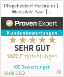 Erfahrungen & Bewertungen zu Pflegehelden® Heilbronn