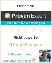 Erfahrungen & Bewertungen zu Elinor Maiß