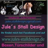 Jules Stall Design Boxen und Tier Schilder
