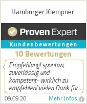 Erfahrungen & Bewertungen zu Hamburger Klempner
